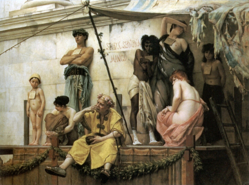 B.Gustave Clarence Rudolphe - The Slave Market