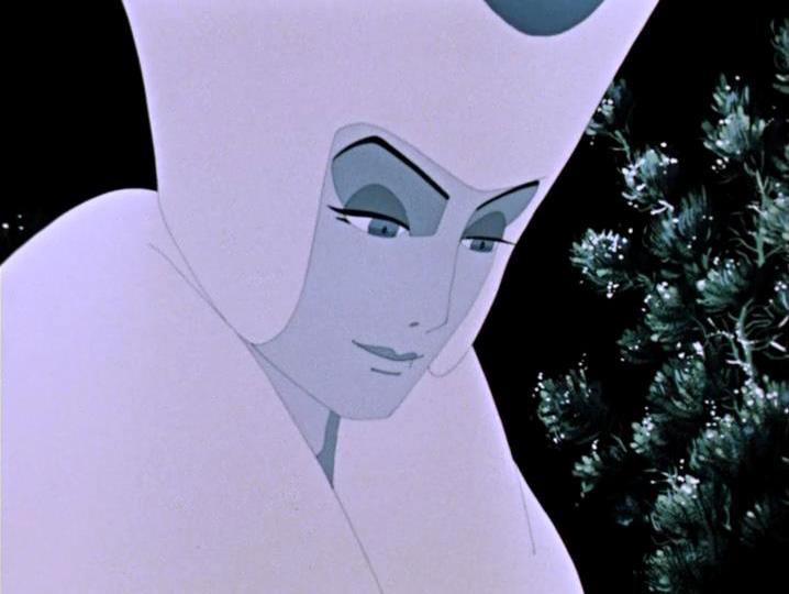 Cartone animato d la regina della neve il paese degli specchi